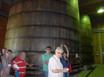 Just for tourists: wooden barrels no longer used for fermentation