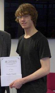 Douglas Douglas, joint 3rd prize