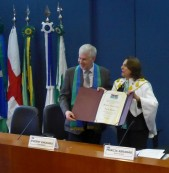 Dr Evgeny Khukhro receives the title of Professor Honoris Causa
