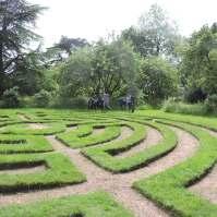 Solving a maze